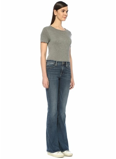Frame Denim Yüksek Bel Skinny Jean Pantolon Mavi